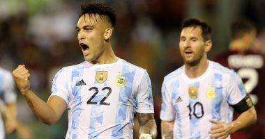 """منتخب الأرجنتين يهزم فنزويلا بثلاثية فى تصفيات كأس العالم """"فيديو"""""""