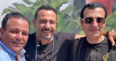ضحك ولعب.. محمد نجاتى مع محمد فؤاد وإيهاب توفيق: الحب الحقيقى والأيام الحلوة