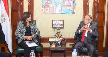 """وزيرة الهجرة تعلن مشاركة الدكتور وسيم السيسي بالمبادرة الرئاسية """"اتكلم عربي""""  - اليوم السابع"""