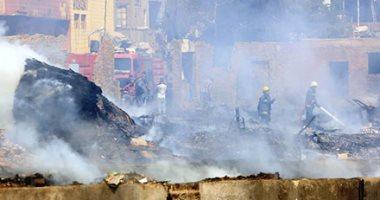 السيطرة على حريق سيارة ملاكى بمدينة 6 أكتوبر