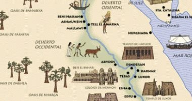 """بعثة جامعية إسبانية تزور مصر ضمن برنامج دراسى يحمل عنوان """"على خطى هيرودوت"""""""