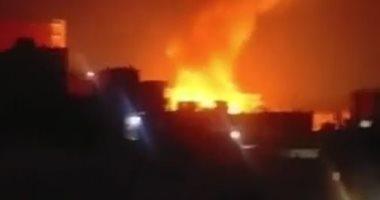 3 جرحى في حريق داخل مركز للحرس الثوري الإيراني