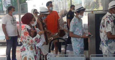 السعودية نيوز |                                              وصول 732 سائحا على متن السفينة السياحية Msc BELLSSIMA لميناء سفاجا البحرى