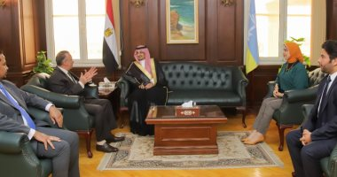 السعودية نيوز |                                              محافظ الإسكندرية يستقبل قنصل عام السعودية لبحث سبل تعزيز التعاون بين الجانبين