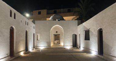 تطوير قرية المهندس حسن فتحى التراثية بالأقصر قبل زيارة وزيرة الثقافة.. صور