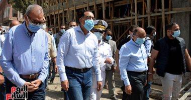 """رئيس الوزراء يتفقد """"سكن كريم"""" بمبادرة حياة كريمة فى قرى شبين القناطر..صور"""
