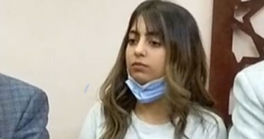 الطالبة حبيبة زهران فتاة الفستان