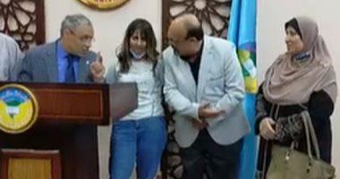الدكتور محمود زكى، رئيس جامعة طنطا