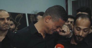 """""""الدموع"""" عنوان المشهد.. كيف ودع سعد سمير النادى الاهلى فى حضور اللاعبين ؟"""