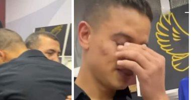شاهد دموع سعد سمير بسبب الرحيل عن الأهلى ووداع زملائه
