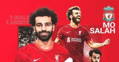 محمد صلاح يفوز بجائزة لاعب شهر أغسطس فى ليفربول