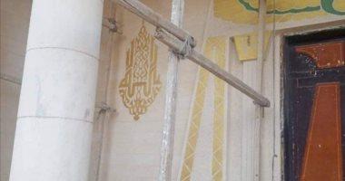 مسجد حديث على الطراز الفرعونى بالفيوم