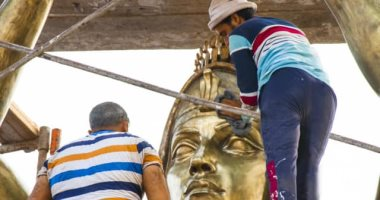 عصام درويش ينتظر تدشين تمثال من تصميمه للفنان محمود ياسين ببورسعيد
