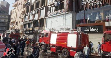 صورة ارتفاع إصابات انفجار أسطوانة الأكسجين بعيادة طبيب بدمنهور لـ14 شخصا