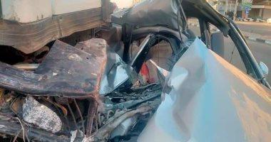 صورة مصرع وإصابة 6 أشخاص فى حادثى سير بالشرقية