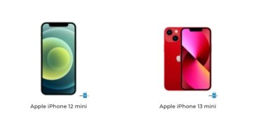 إيه الفرق؟.. اعرف الاختلافات بين iPhone 13 mini وiPhone 12 mini