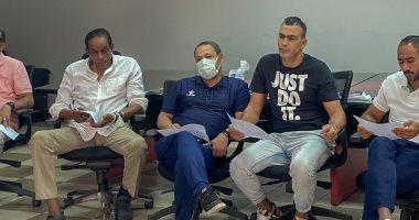 كيروش يجتمع بجهازه فى اتحاد الكرة لمناقشة استعدادات مباراتى ليبيا