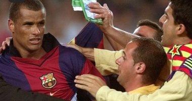 """صورة لحظات لا تنسى.. ريفالدو يحتفل بذكرى منحه برشلونة تذكرة التأهل لدورى الأبطال """"صور"""""""