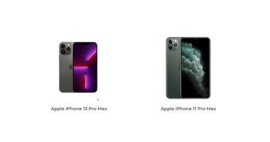 إيه الفرق؟.. اعرف الاختلافات بين iPhone 13 Pro Max وiPhone 11 Pro Max