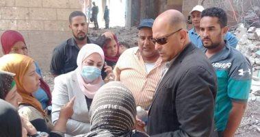 إخلاء ونقل 1842 أسرة من عزبة أبو قرن بمصر القديمة لوحدات مفروشة بالسلام