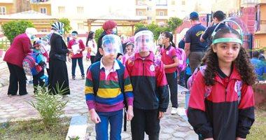 عام دراسي سعيد.. المدارس تستقبل الطلاب وسط إجراءات احترازية مشددة