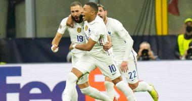 فرنسا بطلا لدوري الأمم الأوروبية على حساب إسبانيا بثنائية بنزيما ومبابى