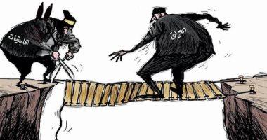 كاريكاتير اليوم.. العراق يحارب المليشيات بسلاح الصناديق