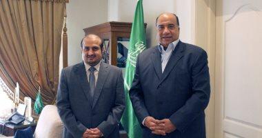 السعودية نيوز |                                              قنصل السعودية يستقبل رئيس غرفة الملاحة لبحث العلاقات المشتركة