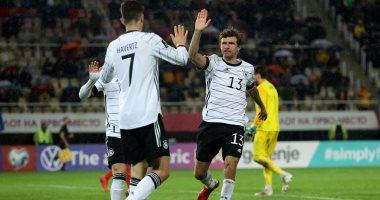 ألمانيا تكتسح مقدونيا الشمالية وتحجز بطاقة التأهل الأولى لكأس العالم 2022