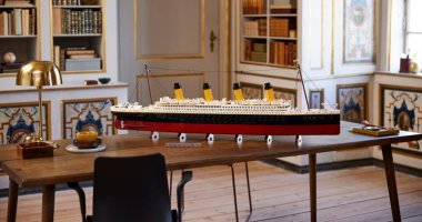 LEGO launches a replica of the Titanic, designed with more than 9,000 cubes.. Photos