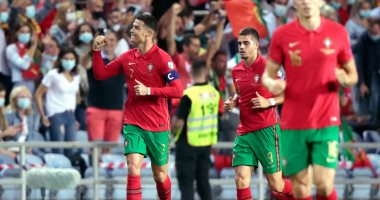 """البرتغال تكتسح لوكسمبرج 5-0 فى ليلة """"هاتريك"""" رونالدو بتصفيات المونديال"""