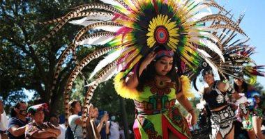 رقصات فلكولورية وطقوس شعبية.. أمريكا تحتفل بيوم الشعوب الأصلية