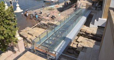 محافظ الأقصر يكشف تفاصيل إنشاء أول كوبرى زجاجى على المرسى الآثرى بكورنيش النيل