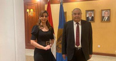 رئيس المحكمة الدستورية العليا ضيف الإعلامية رانيا هاشم على إكسترا نيوز الأحد