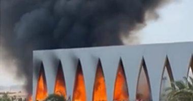 الصحة: إصابة 14 مواطنا باختناقات فى حريق محدود بإحدى قاعات مهرجان الجونة