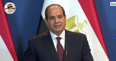 الرئيس السيسى: العاصمة الإدارية إعلان للجمهورية الجديدة بعد فترة صعبة لمصر
