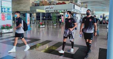 بعثة الأهلى تصل مطار القاهرة استعدادا للسفر إلى النيجر ..صور
