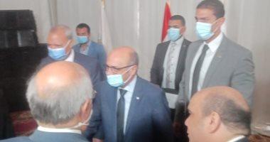 وزير العدل يفتتح محكمة طوخ بعد تطويرها ويحث القضاة على تحقيق العدالة الناجزة