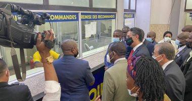 البريد يوقع بروتوكول تعاون مع نظيره الكونغولي في مجال تطبيقات التجارة الإلكترونية