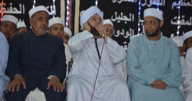"""فرقة الإنشاد الدينى بالأقصر تحتفل بمولد رسول الله بـ""""مليونية الصلاة على النبى"""""""