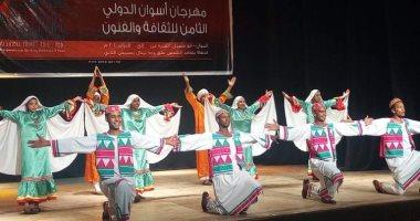 بدء العروض الفنية للاحتفال بتعامد الشمس على أبو سمبل فى أسوان اليوم