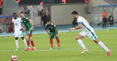 السعودية نيوز |                                              الأهلي يحقق أول فوز في الدوري السعودي برباعية ضد الاتفاق بمشاركة النقاز