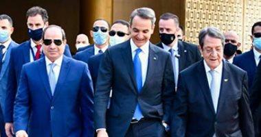 زعماء مصر واليونان وقبرص