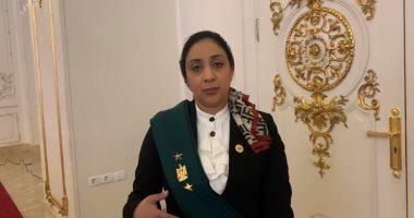 صورة قاضية بمجلس الدولة : الرئيس له الفضل فى وضع المرأة على منصة القضاء الإدارى