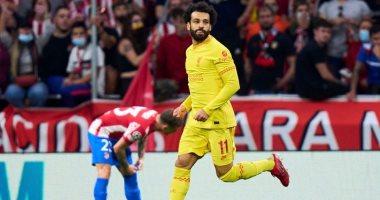 صورة أتلتيكو مدريد ضد ليفربول.. محمد صلاح يتقدم للريدز بالهدف الثالث من ركلة جزاء