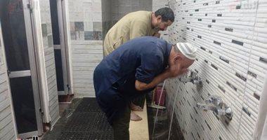 فتح دورات المياه فى المساجد