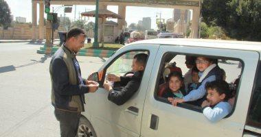 حملات الكشف على سائقى الحافلات المدرسية
