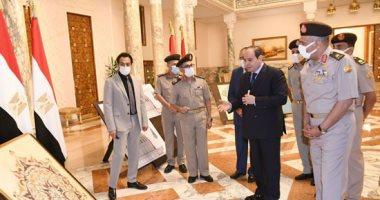 الرئيس السيسى يتابع موقف مشروعات الهيئة الهندسية