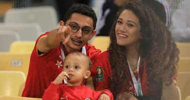 أسرة مصرية بمدرجات مباراة الأهلى والإسماعيلى