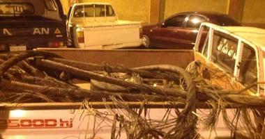 اعترافات عصابة الكهرباء: نسرق الكابلات لتسييح النحاس وبيعه